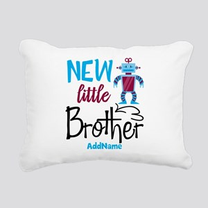 Little Brother Robot Personalized Rectangular Canv