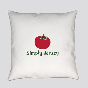 JT-002Wsc_JerseyTomato Everyday Pillow