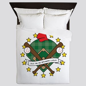 Take Me Out to the Ball Game Queen Duvet