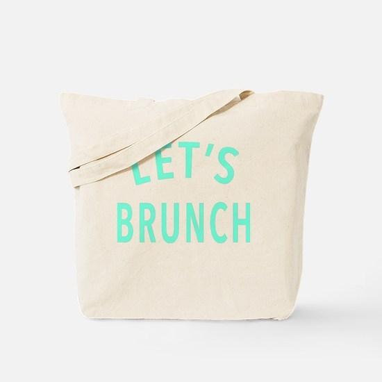 Lets Brunch Tote Bag