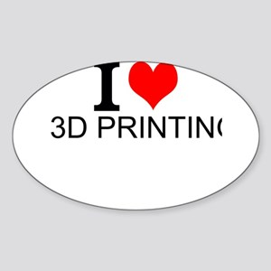 I Love 3D Printing Sticker