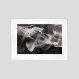 Smoke and Mirrors 5'x7'Area Rug