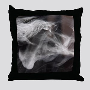 Smoke and Mirrors Throw Pillow