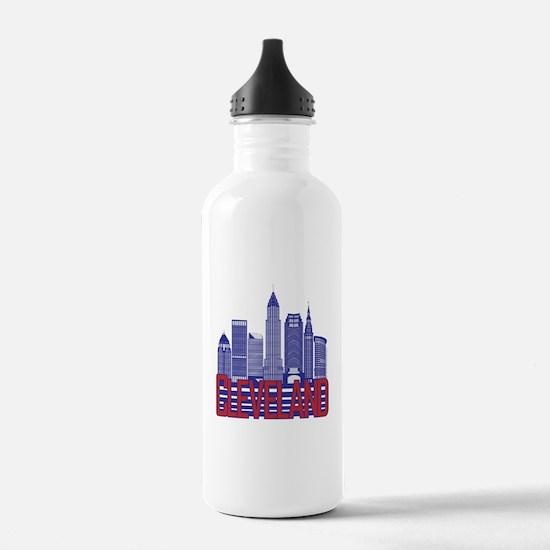 Cleveland City Colors Water Bottle