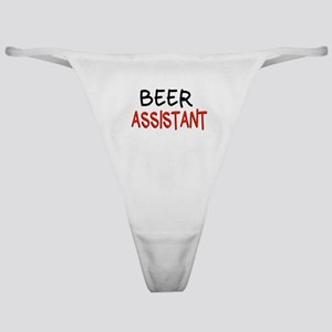Beer Assistant Classic Thong