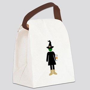 Basic Witch Canvas Lunch Bag