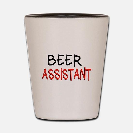 Beer Assistant Shot Glass