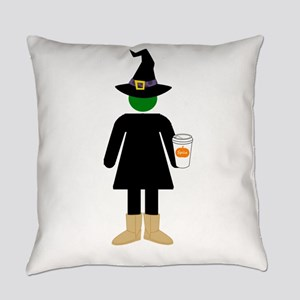 Basic Witch Everyday Pillow