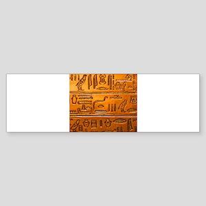 Hieroglyphs20160331 Bumper Sticker