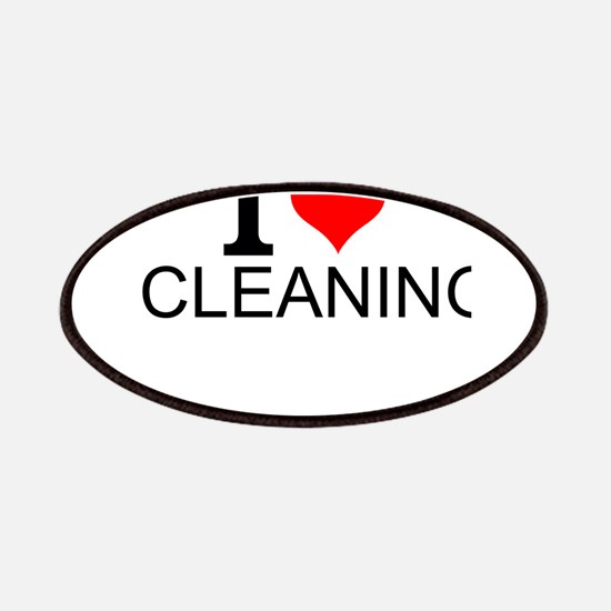 I Love Cleaning Patch