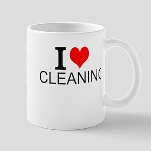 I Love Cleaning Mugs