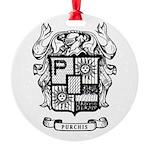 PURCHIS FAMILY CREST Ornament