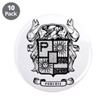 """Purchis Family Crest 3.5"""" Button (10 Pack)"""