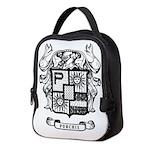 PURCHIS FAMILY CREST Neoprene Lunch Bag