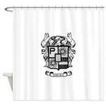 PURCHIS FAMILY CREST Shower Curtain