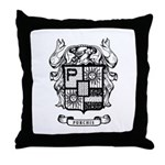 PURCHIS FAMILY CREST Throw Pillow