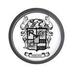 PURCHIS FAMILY CREST Wall Clock