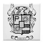 PURCHIS FAMILY CREST Tile Coaster