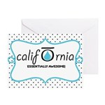 CALI OILS Greeting Card