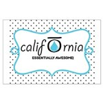 CALI OILS Large Poster