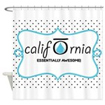 CALI OILS Shower Curtain