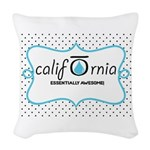 CALI OILS Woven Throw Pillow