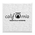 CALI OILS Tile Coaster