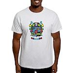 Purchis Crest (color) Light T-Shirt