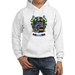Purchis Crest (color) Hooded Sweatshirt