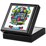 Purchis Crest (color) Keepsake Box