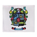 Purchis Crest (color) Throw Blanket