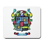 Purchis Crest (color) Mousepad