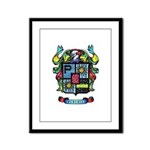 Purchis Crest (color) Framed Panel Print