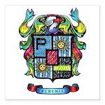 Purchis Crest (color) Square Car Magnet 3