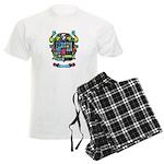 Purchis Crest (color) Men's Light Pajamas