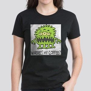 Where's My Coffee Monster T-Shirt