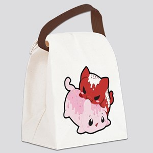 Cakeycat Canvas Lunch Bag