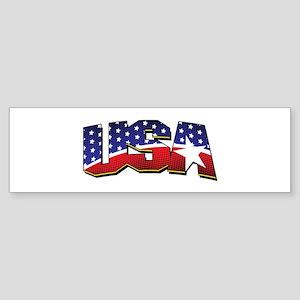 Team USA Shirt Bumper Sticker