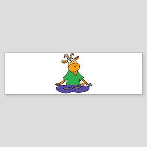 Goat Yoga Bumper Sticker