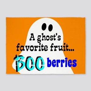 Boo Berries 5'x7'Area Rug