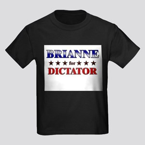 BRIANNE for dictator Kids Dark T-Shirt