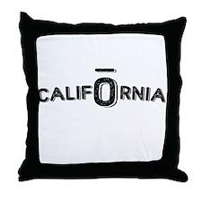 CALIFORNIA OIL Throw Pillow