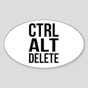 Control Alt Delete Sticker