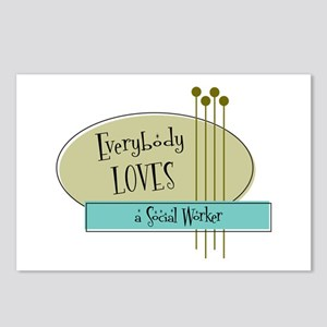 Everybody Loves a Social Worker Postcards (Package