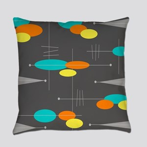 Space Age Spheres Everyday Pillow