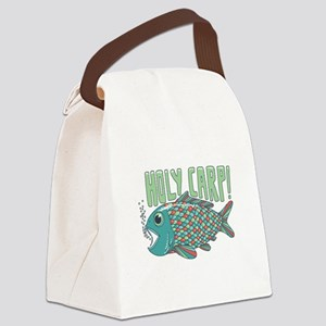 Holy Carp! Canvas Lunch Bag