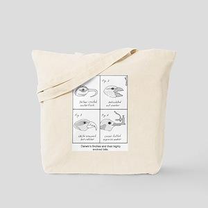 Darwin's Finches Tote Bag