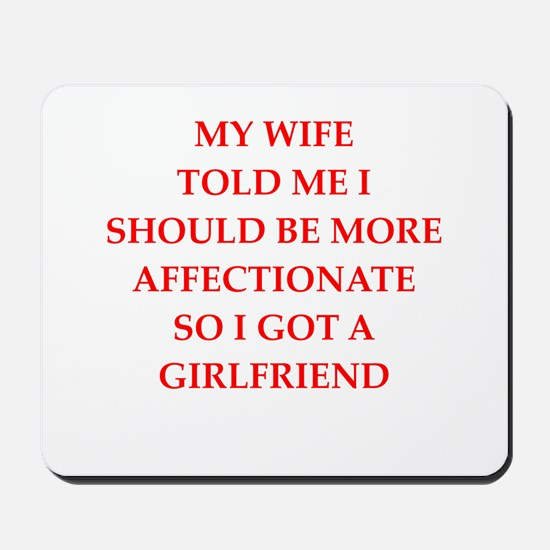 affection Mousepad