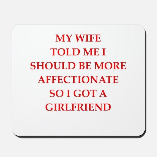 affection Mousepad