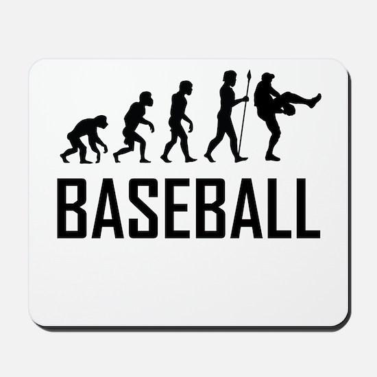 Baseball Evolution Mousepad